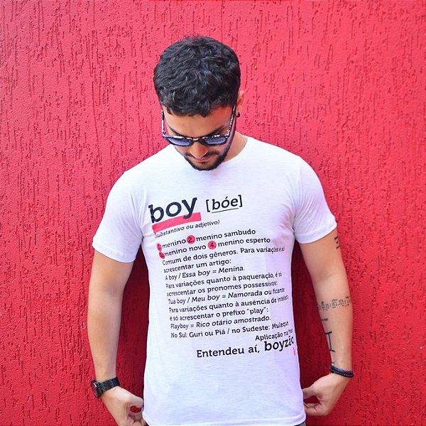 Camiseta Boy Branca