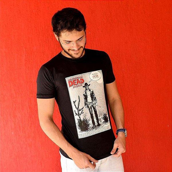 Camiseta Walking Dead do Sertão