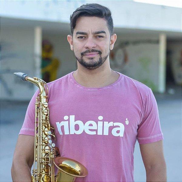 Camiseta Estonada Ribeira Goiaba