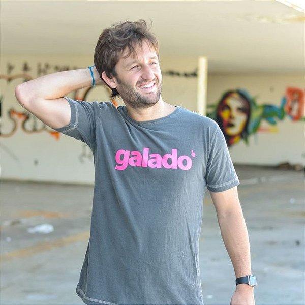 Camiseta Estonada Galado Chumbo