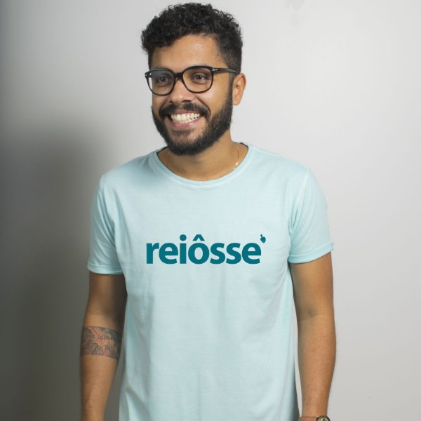 Camiseta Estonada Reiôsse Azul