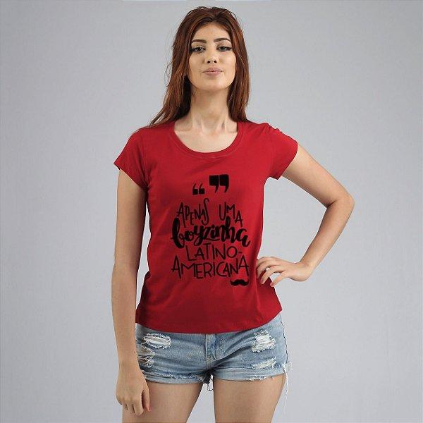 Babylong Latino Americana Vermelha