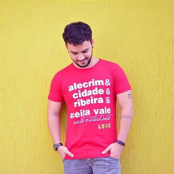 Camiseta Aceita Vale Vermelha