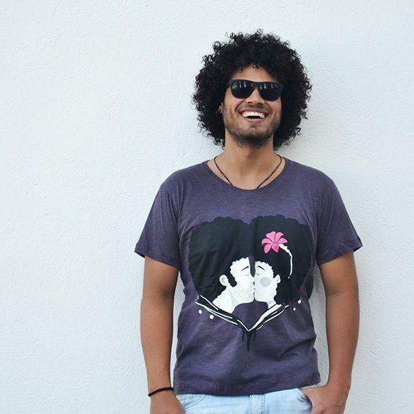 Camiseta Black Love