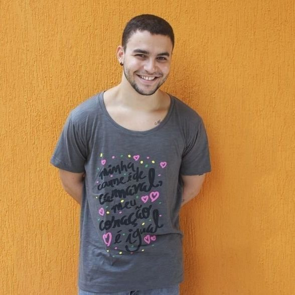 Camiseta Carne de Carnaval