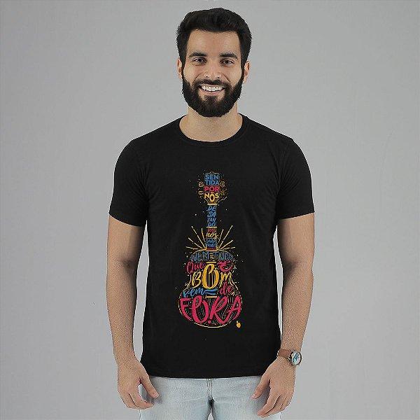 Camiseta Jorge Aragão Preta