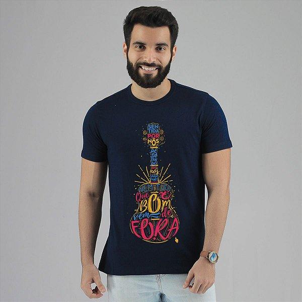 Camiseta Jorge Aragão Azul Marinho