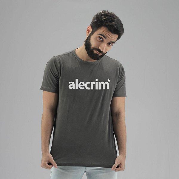Camiseta Estonada Alecrim Chumbo