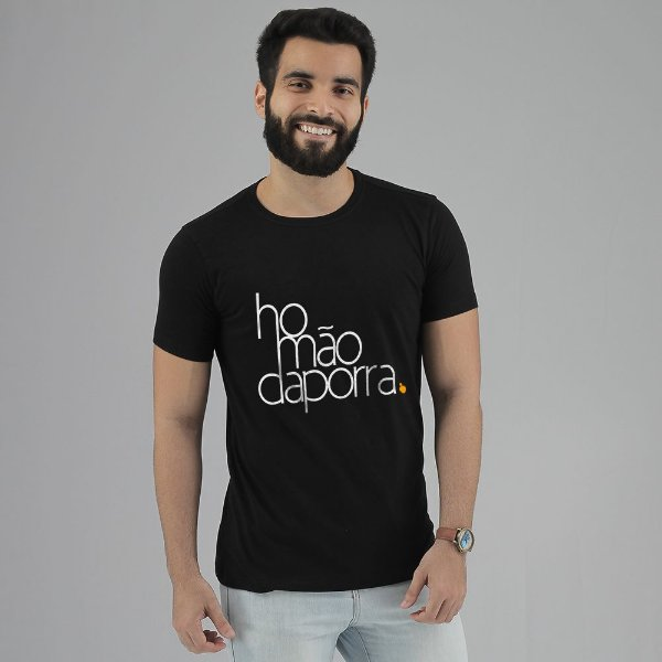 Camiseta Homão da Porra Preta