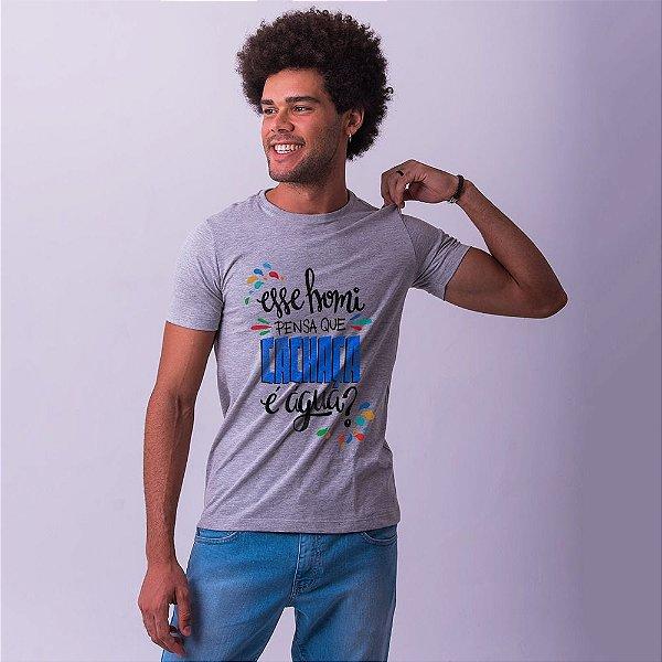 Camiseta Masculina Cachaça Mescla