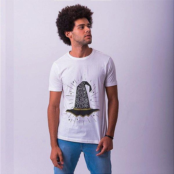 Camiseta Bruxas Branca