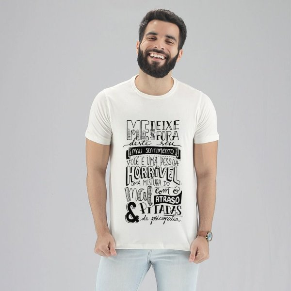 Camiseta Poesia Suprema Branca