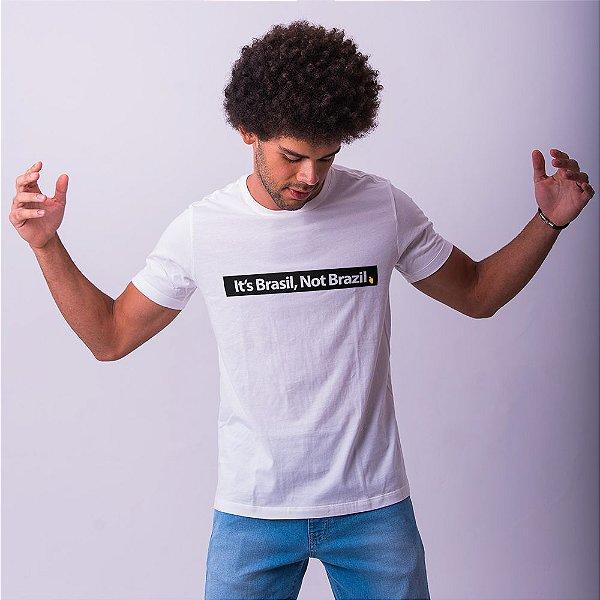 Camiseta It's Brasil Branca