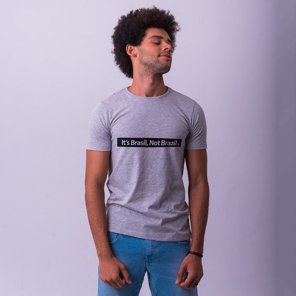 Camiseta It's Brasil Mescla