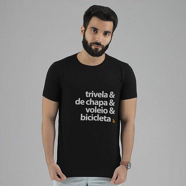 Camiseta Chutes Preta