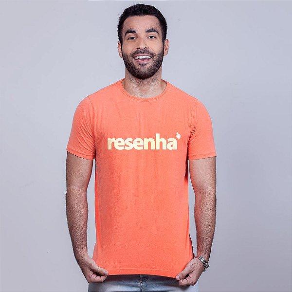 Camiseta Estonada Resenha Laranja