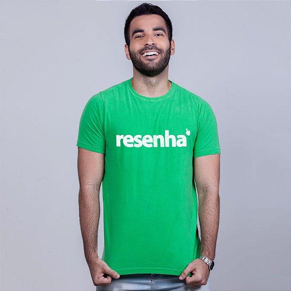 Camiseta Estonada Resenha Verde