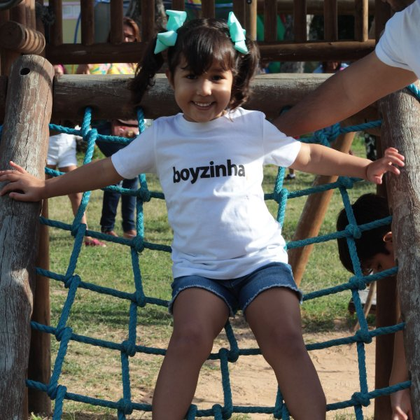 Camiseta Infantil Boyzinha