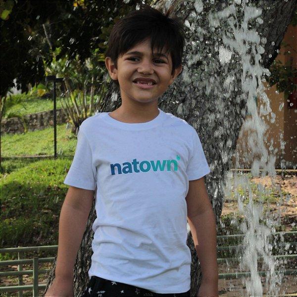 Camiseta Infantil Natown Branca