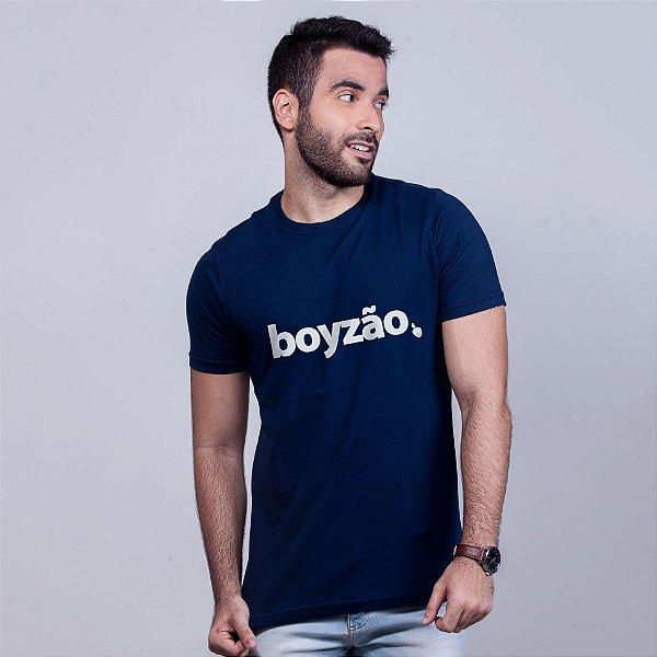 Camiseta Boyzão Azul Marinho