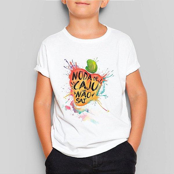 Camiseta Infantil Caju