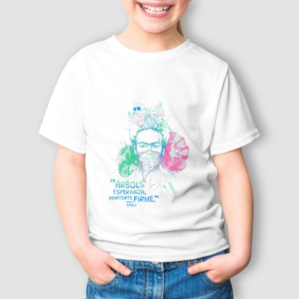 Camiseta Infantil Frida