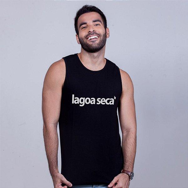 Camiseta Regata Lagoa Seca Preta