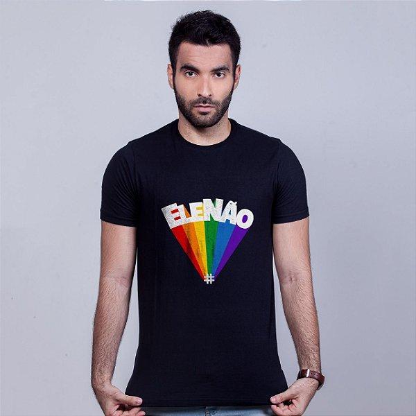 Camiseta Ele Não Amandrafts Preta
