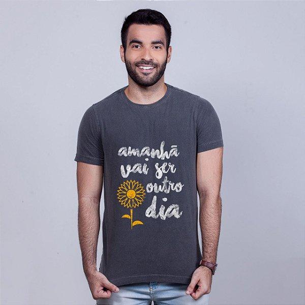 Camiseta Estonada Apesar de Você Chumbo
