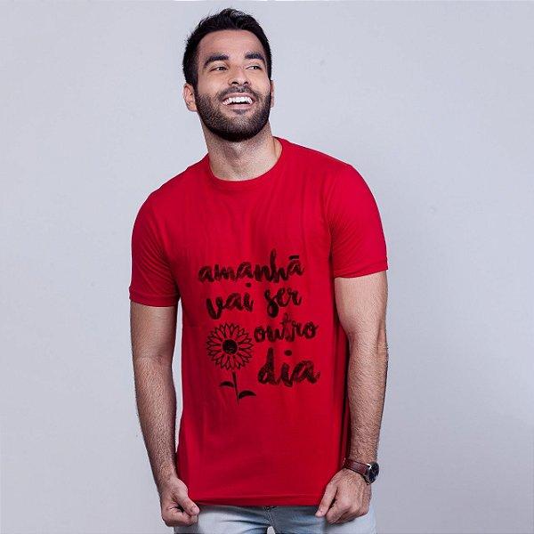 Camiseta Apesar de Você Vermelha Amandrafts