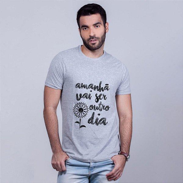 Camiseta Apesar de Você Mescla Amandrafts