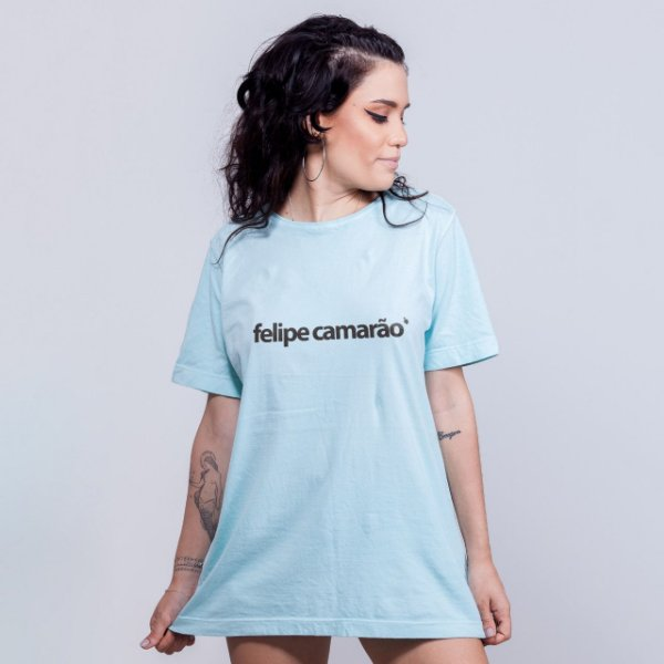 Camiseta Estonada Felipe Camarão Azul