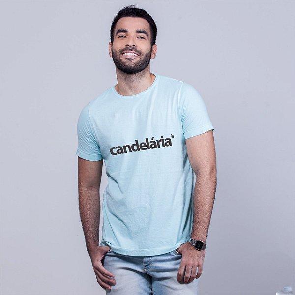 Camiseta Estonada Candelária Azul