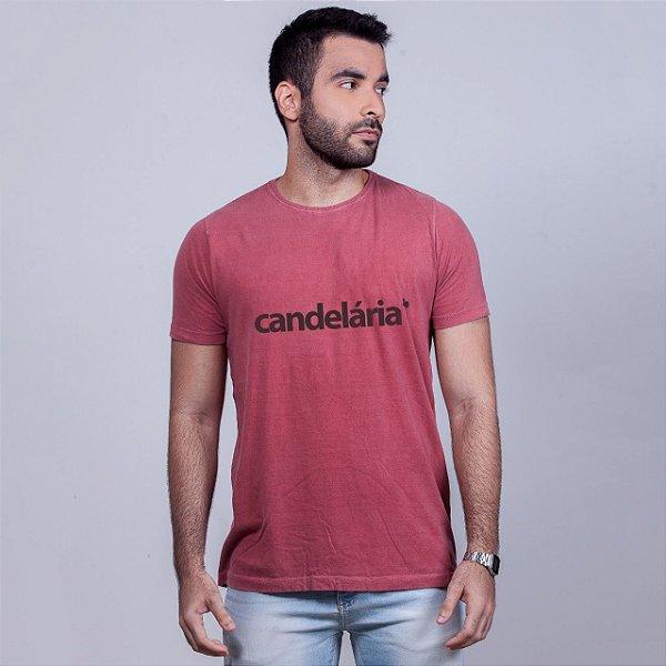 Camiseta Estonada Candelária Goiaba