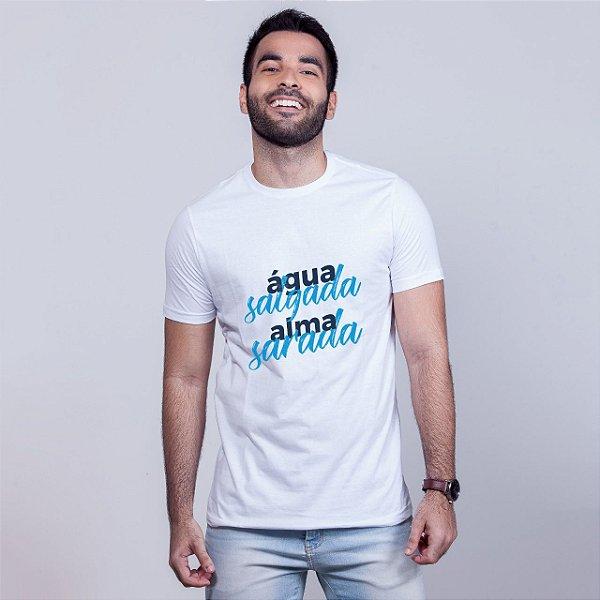 Camiseta Água Alma Branca Umazarte
