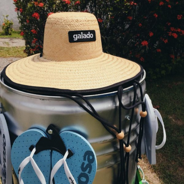 Chapéu de Palha Galado