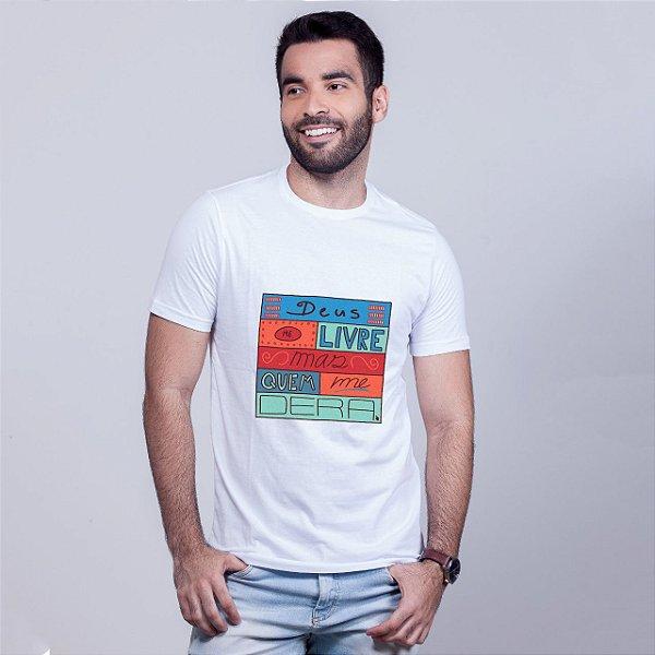 Camiseta Deus Me Livre Branca