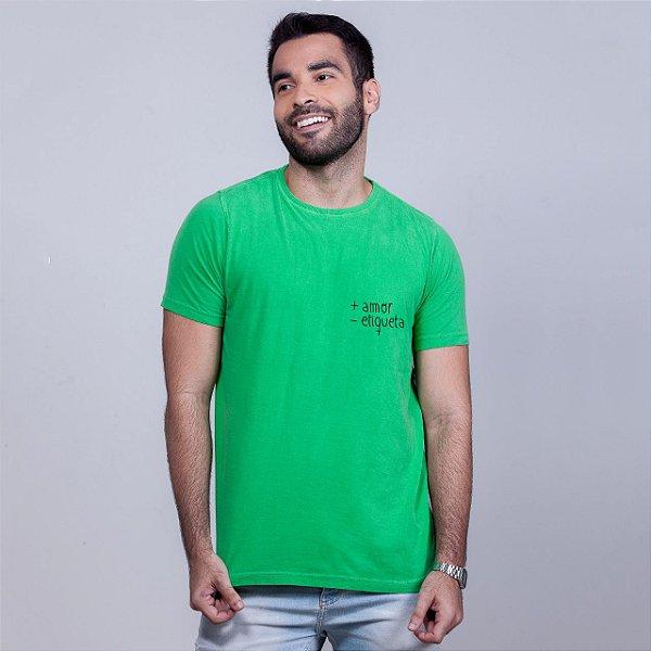 Camiseta Estonada + Amor Verde