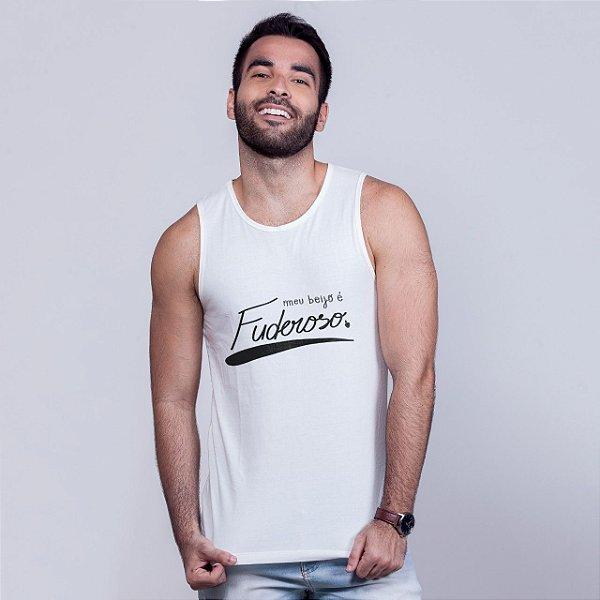 Regata Beijo Fuderoso Branca