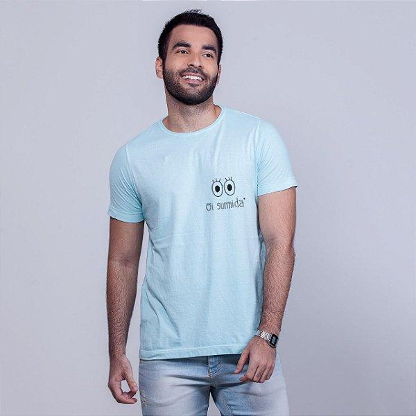 Camiseta Estonada Oi Sumida Azul