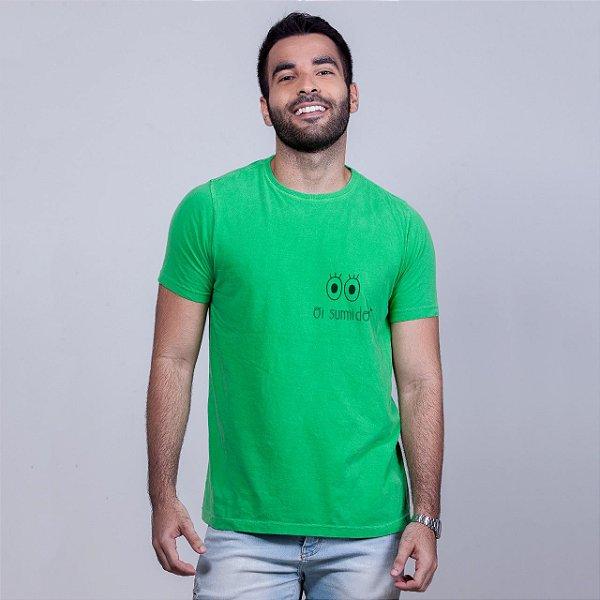 Camiseta Estonada Oi Sumido Verde