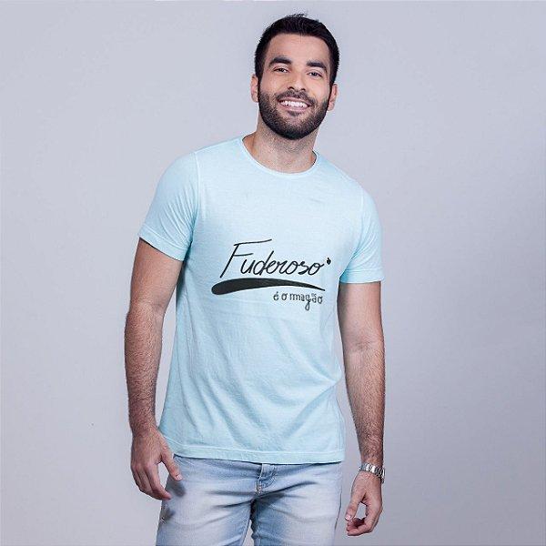 Camiseta Estonada Fuderoso é o Magão Azul