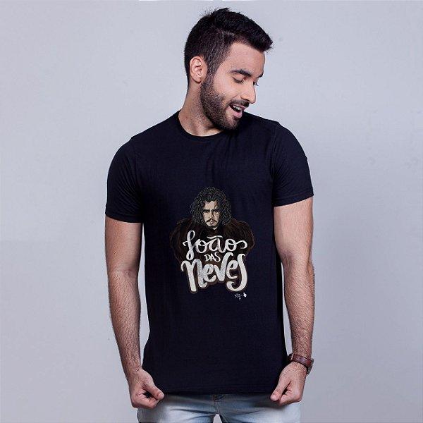 Camiseta João das Neves Preta Amandrafts