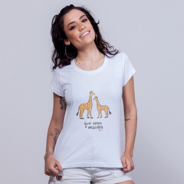 Babylong Que Nem Mainha Girafas Branca