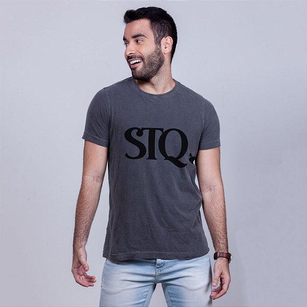 Camiseta Estonada STQ Chumbo