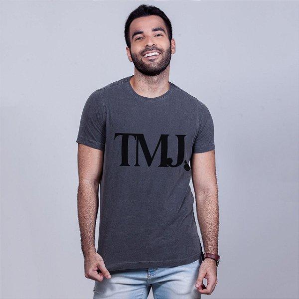 Camiseta Estonada TMJ Chumbo