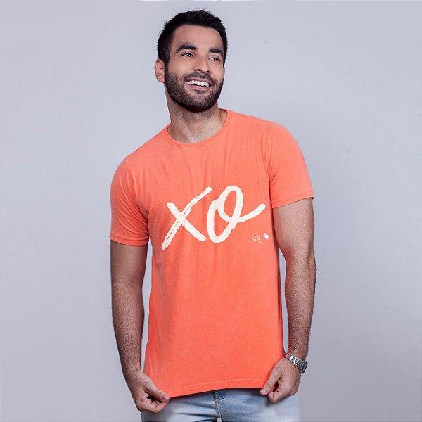 Camiseta Estonada Xo Laranja