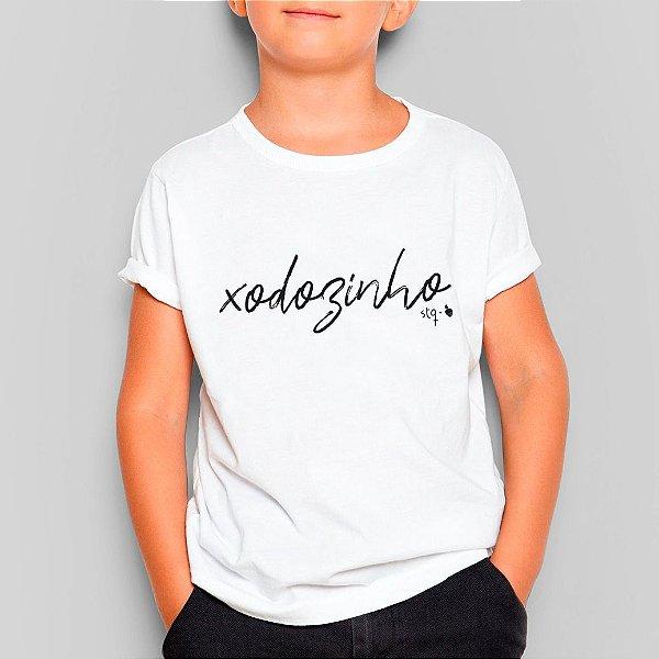 Camiseta Infantil Xodozinho Branca