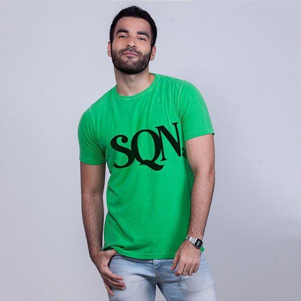 Camiseta Estonada SQN Verde