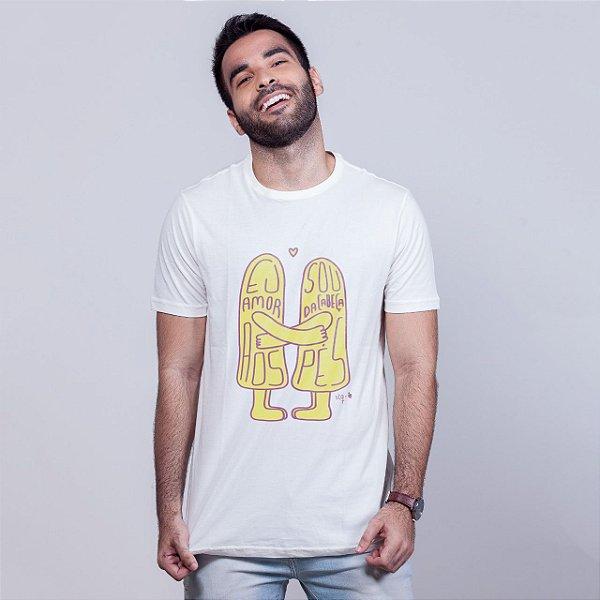 Camiseta Amor da Cabeça aos Pés Branca